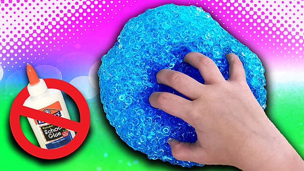 No glue slimes will it slime diy crunchy fishbowl slime without glueg ccuart Image collections