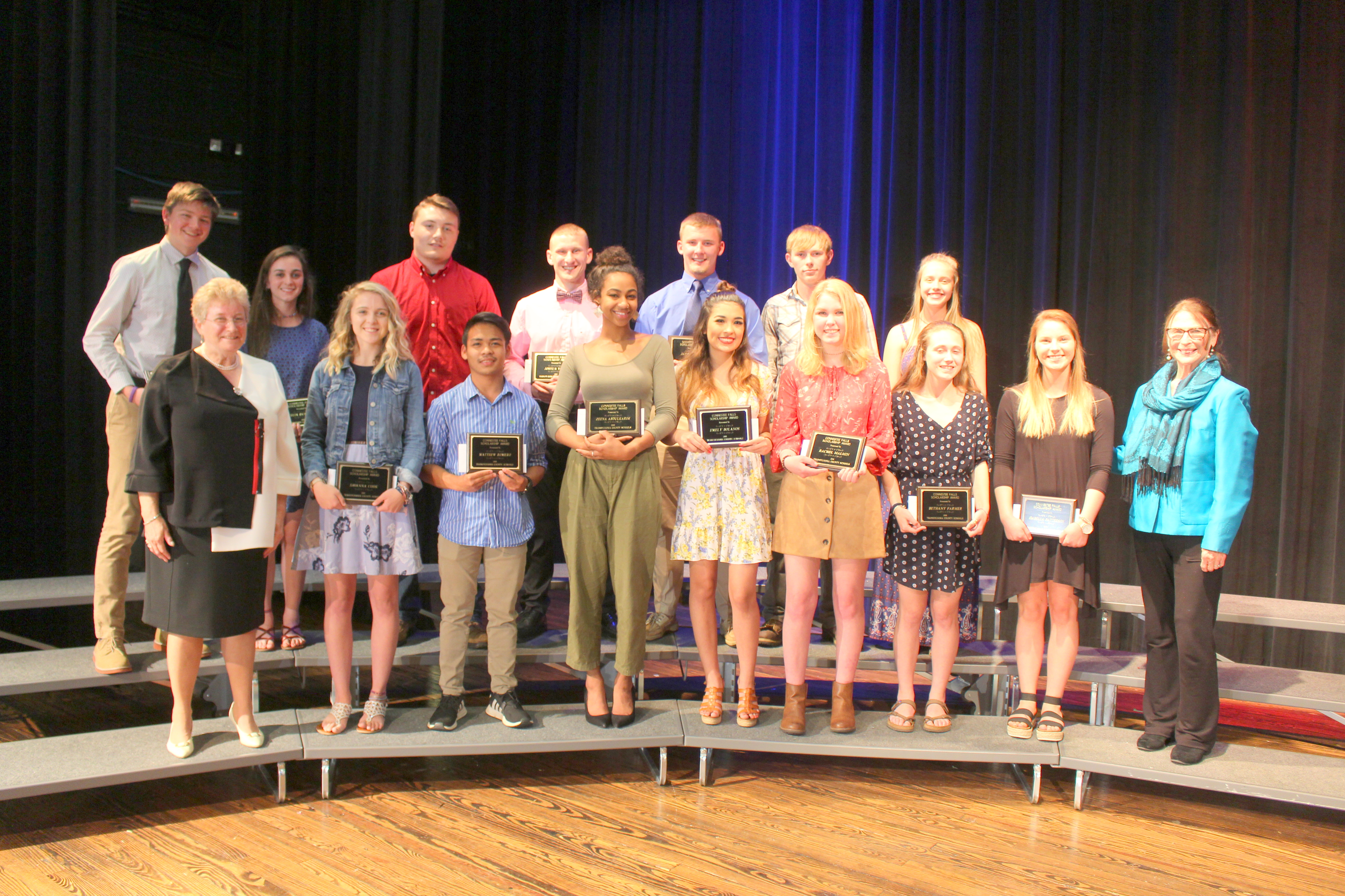 TCS recipients 2019