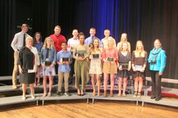 TCS recipients 2019