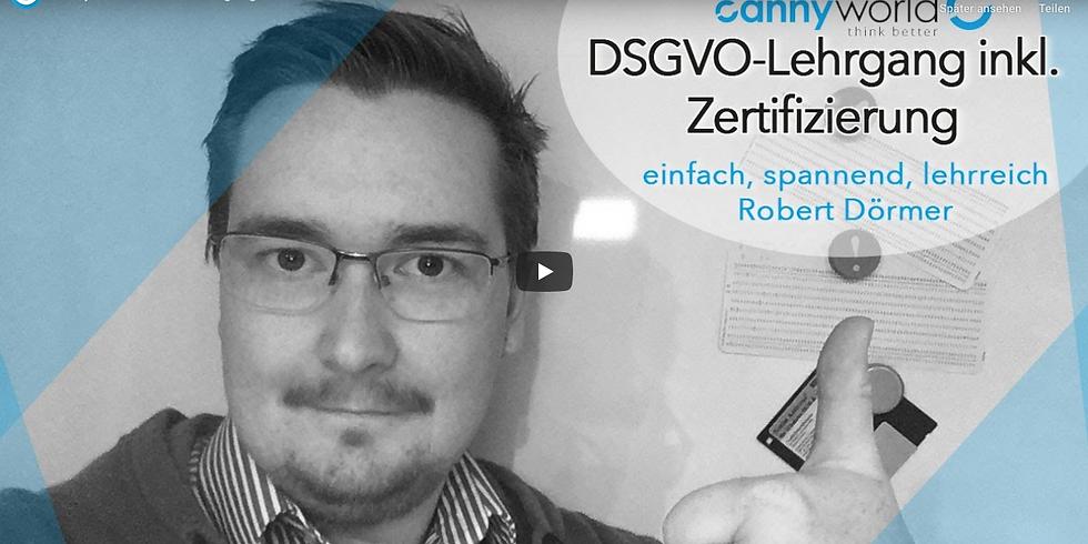 DSGVO – interaktiv, spannend, zertifiziert!
