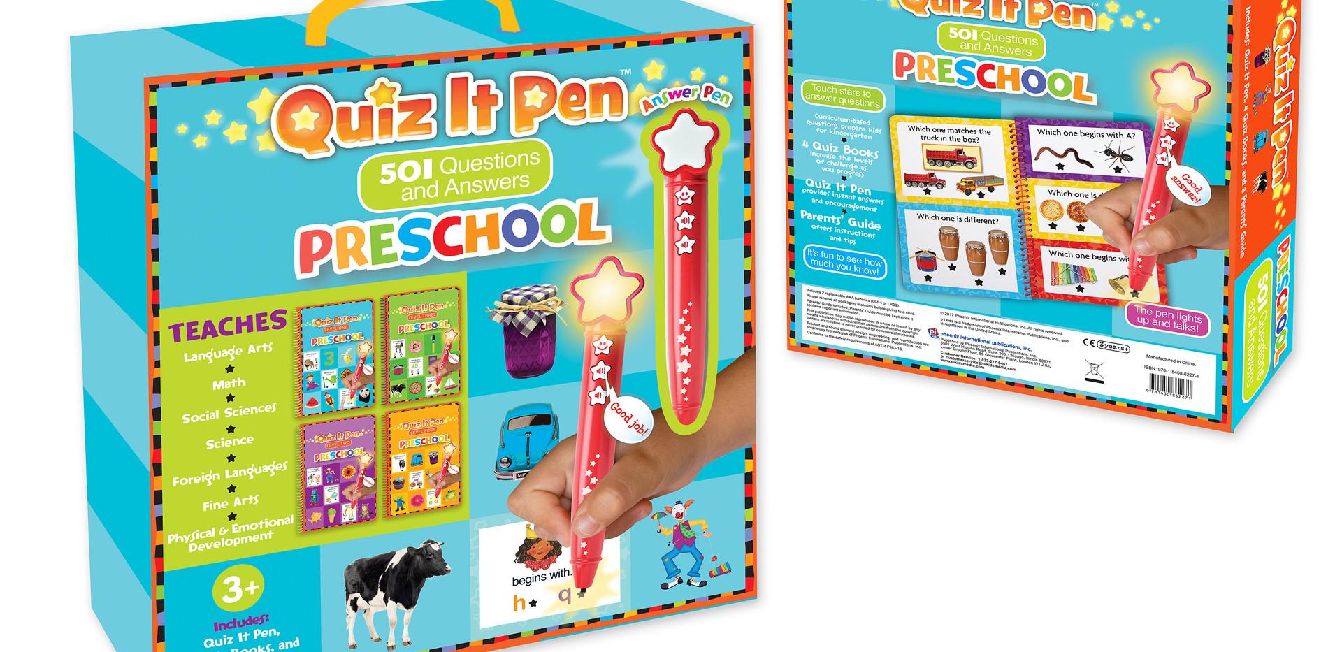 QIP_PreSchool Package Design