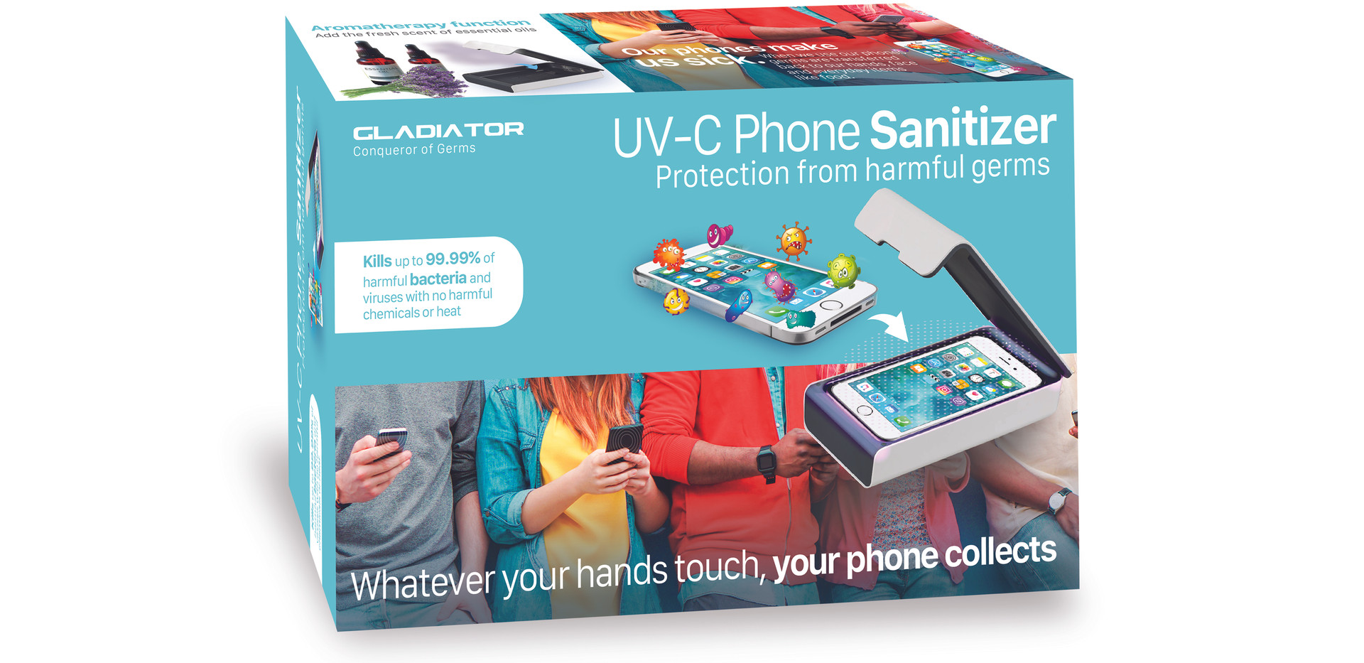 Cell Phone Santizer Package Design