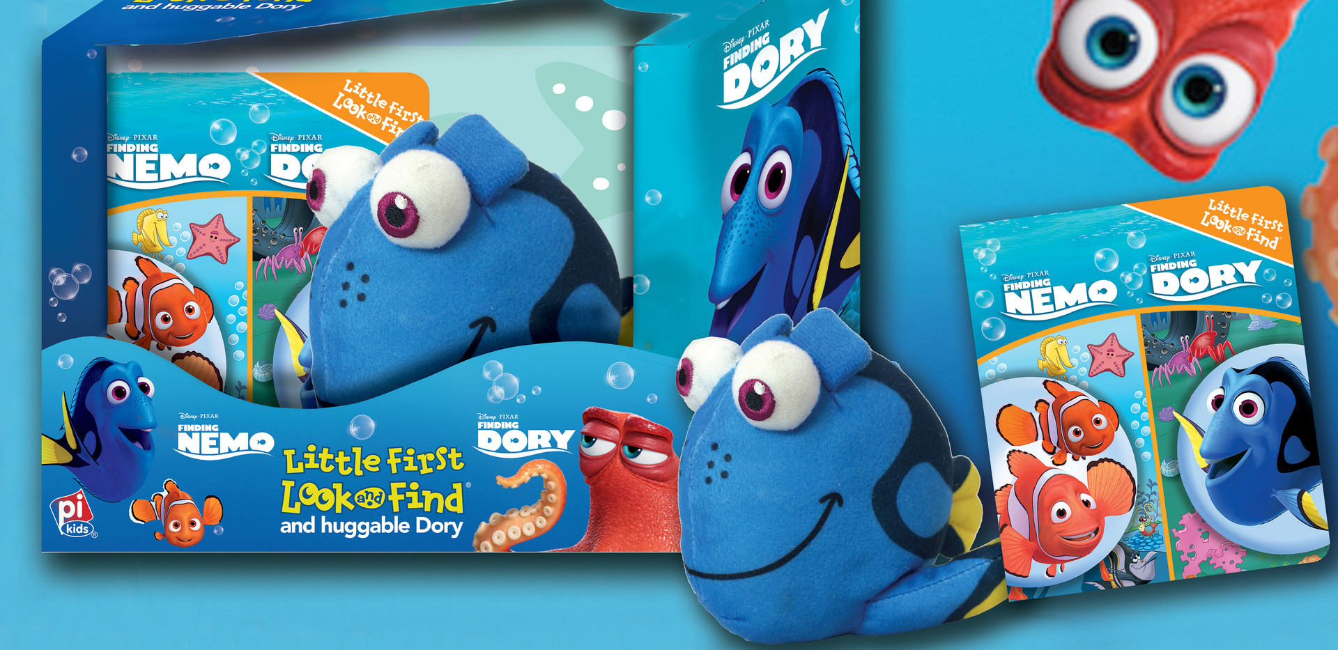 Finding Dory Packaging