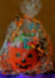 Halloween Spectacle Gift Basket & Book