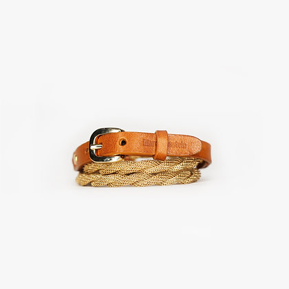 ROPE TRIPLE WRAP - BLOND GOLD - CAMEL
