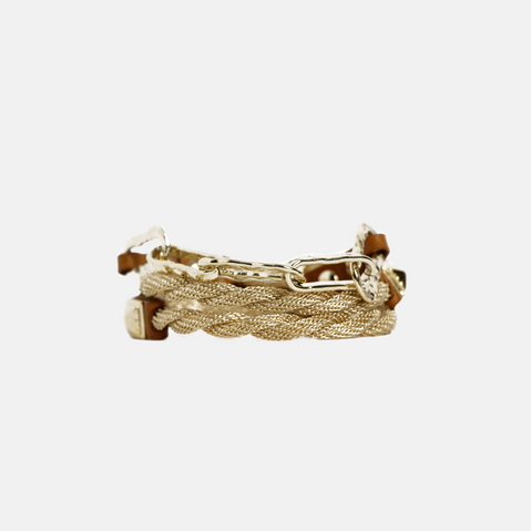 'HAMMERED CHAIN' TRIPLE WRAP