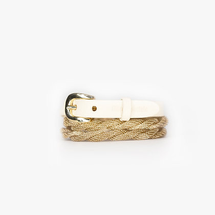 ROPE TRIPLE WRAP - BLOND GOLD - BONE