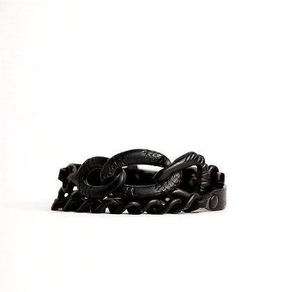 Eagle Double Wrap - Manhattan Matte Black - Black