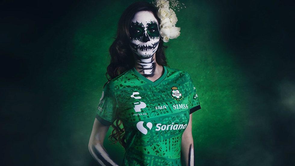 Camiseta-Santos-Laguna-Dia-de-los-Muerto