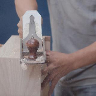 Detalle y preservación de la madera en su mejor estado.