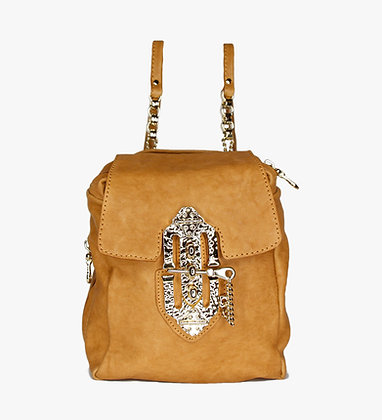 MINI BACKPACK - CAMEL - BLOND GOLD