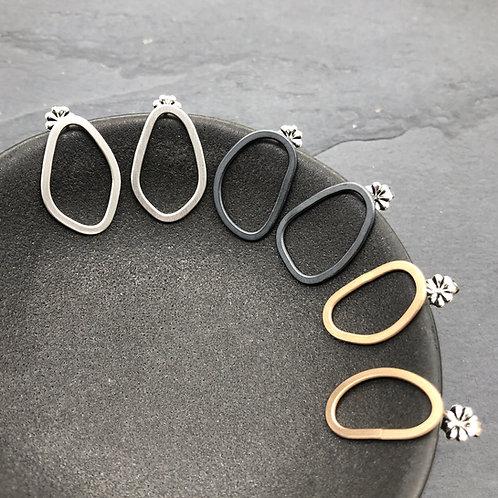 Freeform Stud Earrings