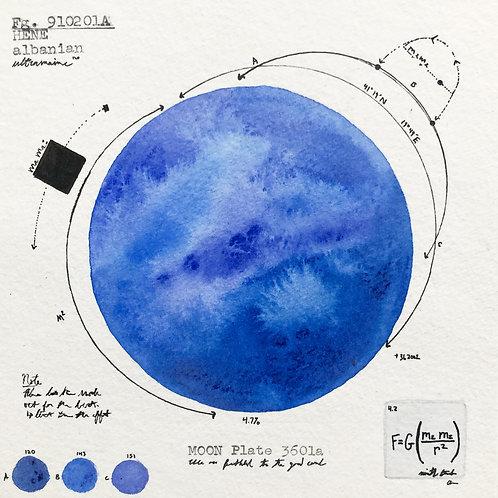 Moon Plate 3601a