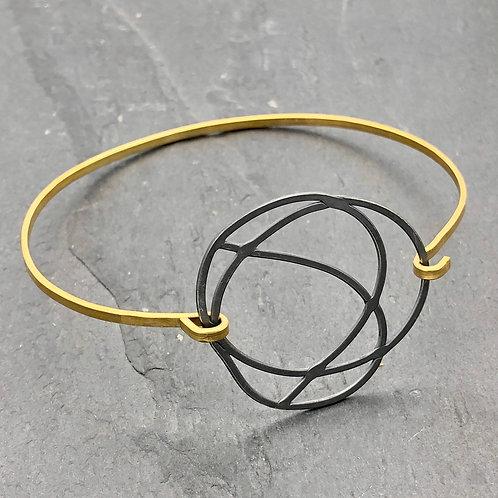Chaos Bangle Bracelet