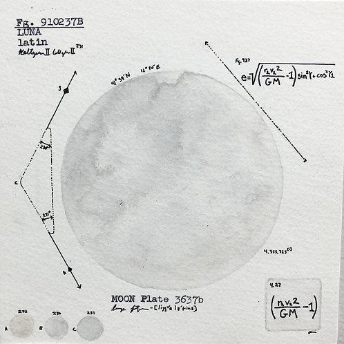 Moon Plate 3637b