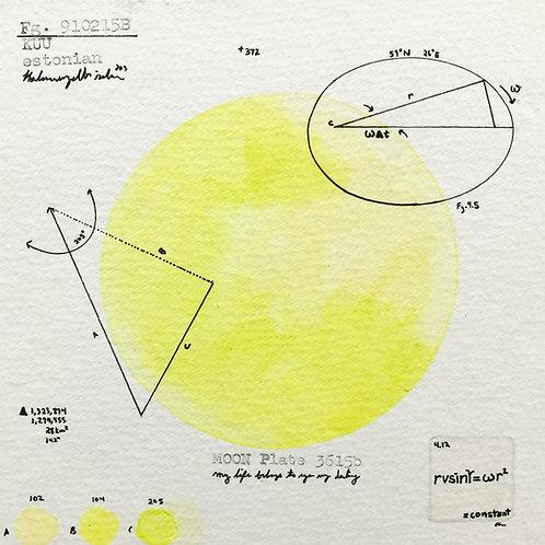 Moon Plate 3615a