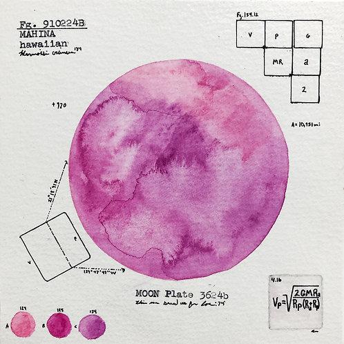 Moon Plate 3624b
