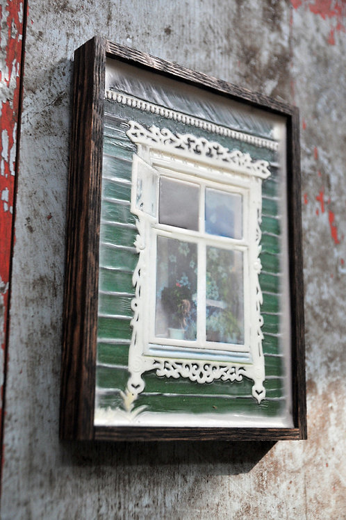 Russian Window - green