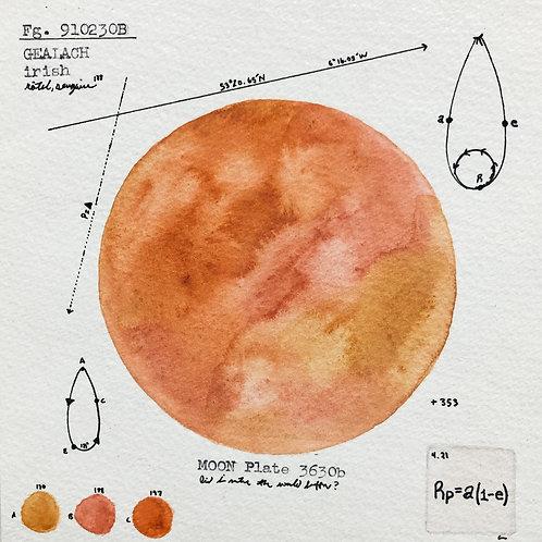Moon Plate 3630b