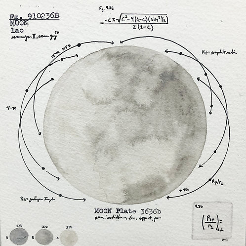 Moon Plate 3636b