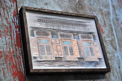 Russian Window - wood