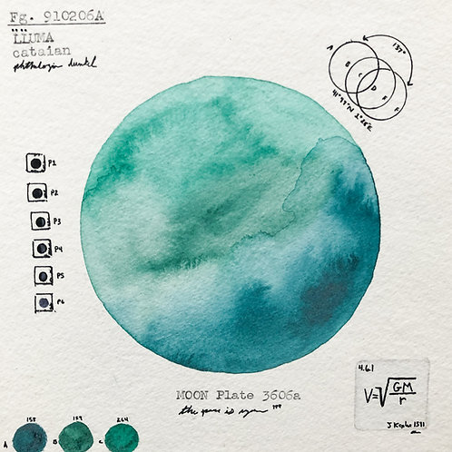 Moon Plate 3606a