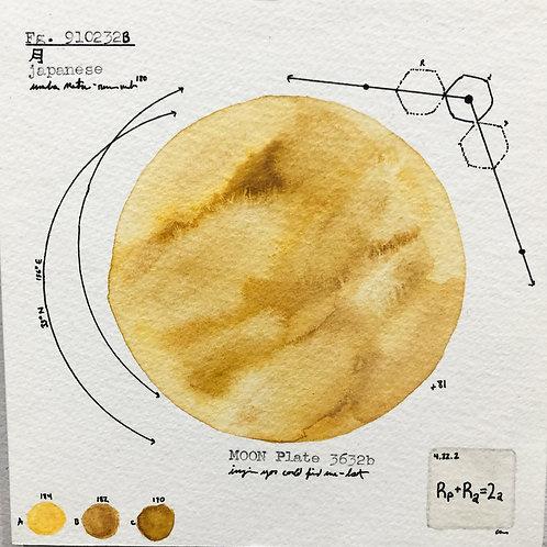 Moon Plate 3236b