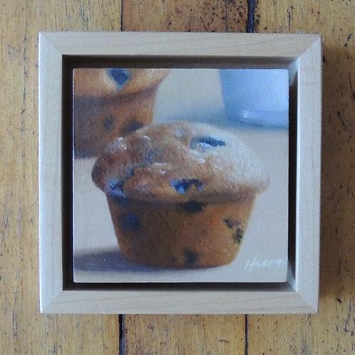Warm Blueberry Muffin