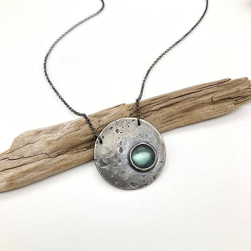 Labradorite Full Moon Necklace