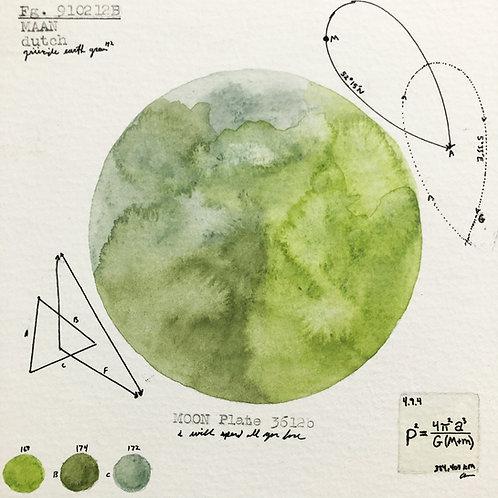 Moon Plate 3612b