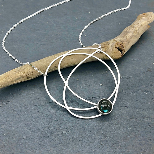 Labradorite Chaos Necklace
