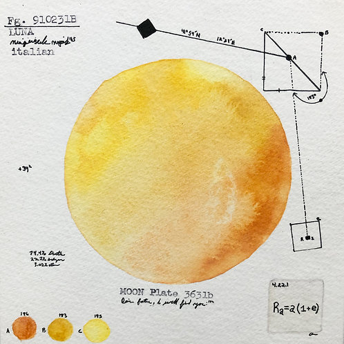Moon Plate 3631b