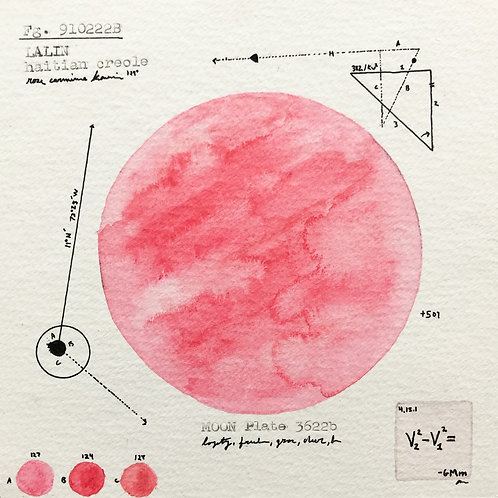 Moon Plate 3622b