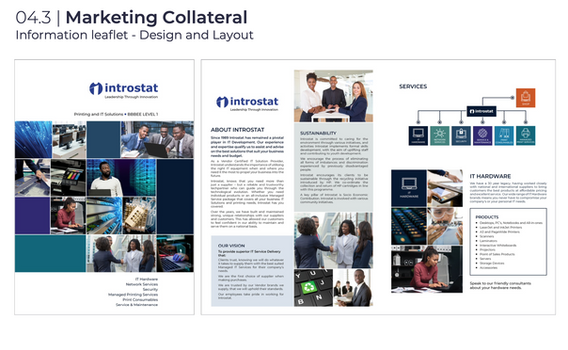 Introstat Marketing Collateral