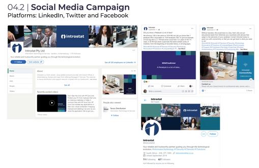 Introstat Social Media