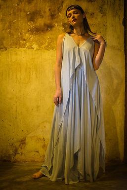 Ash High-Low Dress