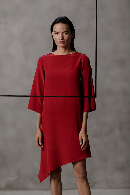 Red Mirla Dress