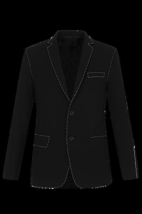 Black Dashed Blazer