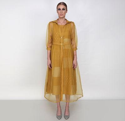 Nakshatra Double Layer Dress