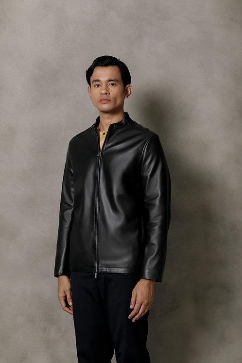 Black Taichi Leather Jacket