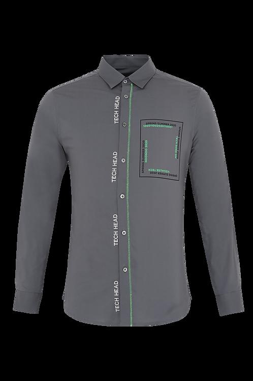 Grey Digital Shirt