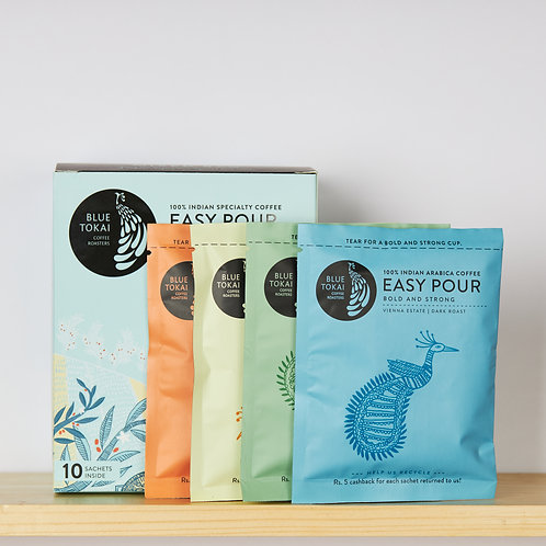 Easy Pour Mixed Box Box of 10 Sachets