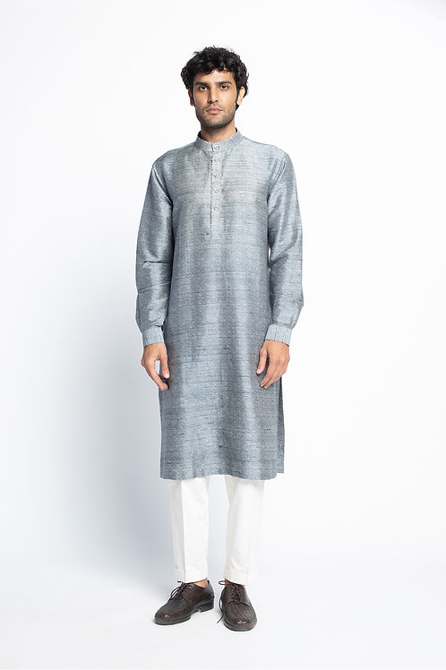 Blue Barish Print Kurta and Trouser