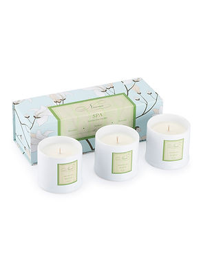 Spa Set of 3 Candle