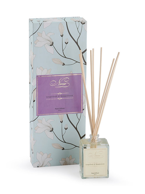 Grapefruit & Mangosteen Reed Diffuser