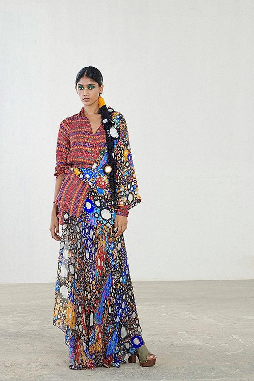 Multicolour Drape