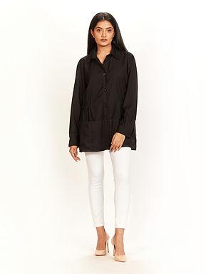Black Shirt Jacket