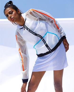 Transparent Holographic Classic PVC Jacket