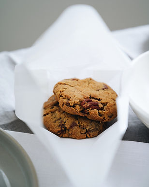 Pecan Cookie with Idduki Hill Chocolate