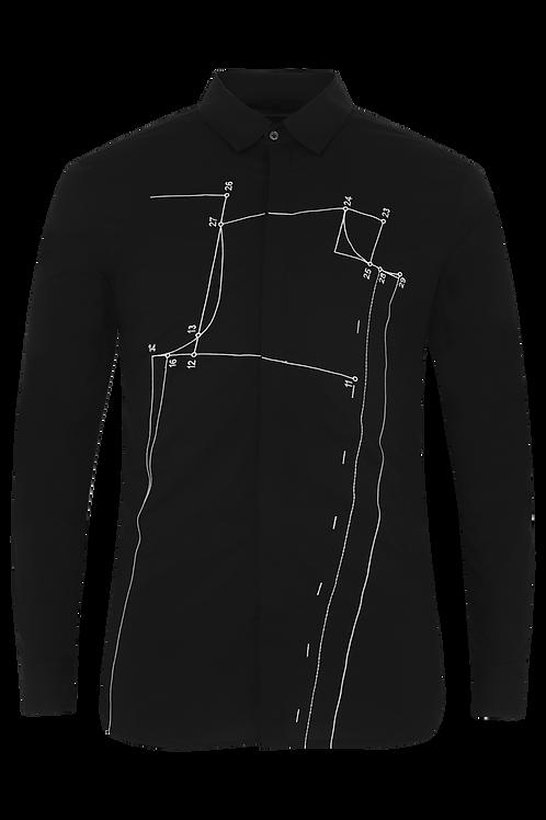 Black Sloper Shirt